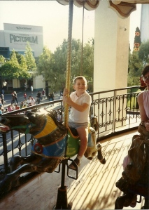 The annual Family trip to the amusement park was far more than just a time to ride rides