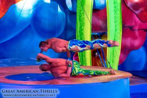 Cirque Dreams Splashtastic at Six Flags Discovery Kingdom - photo (c) 2013 Great American Thrills and Kris Rowberry