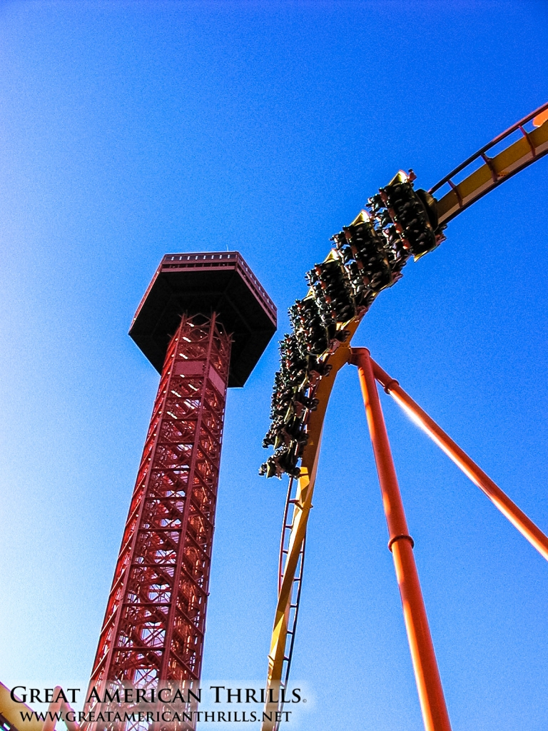 Tatsu at Six Flags Magic Mountain. Photo (c) 2013 Great american Thrills and Kris Rowberry
