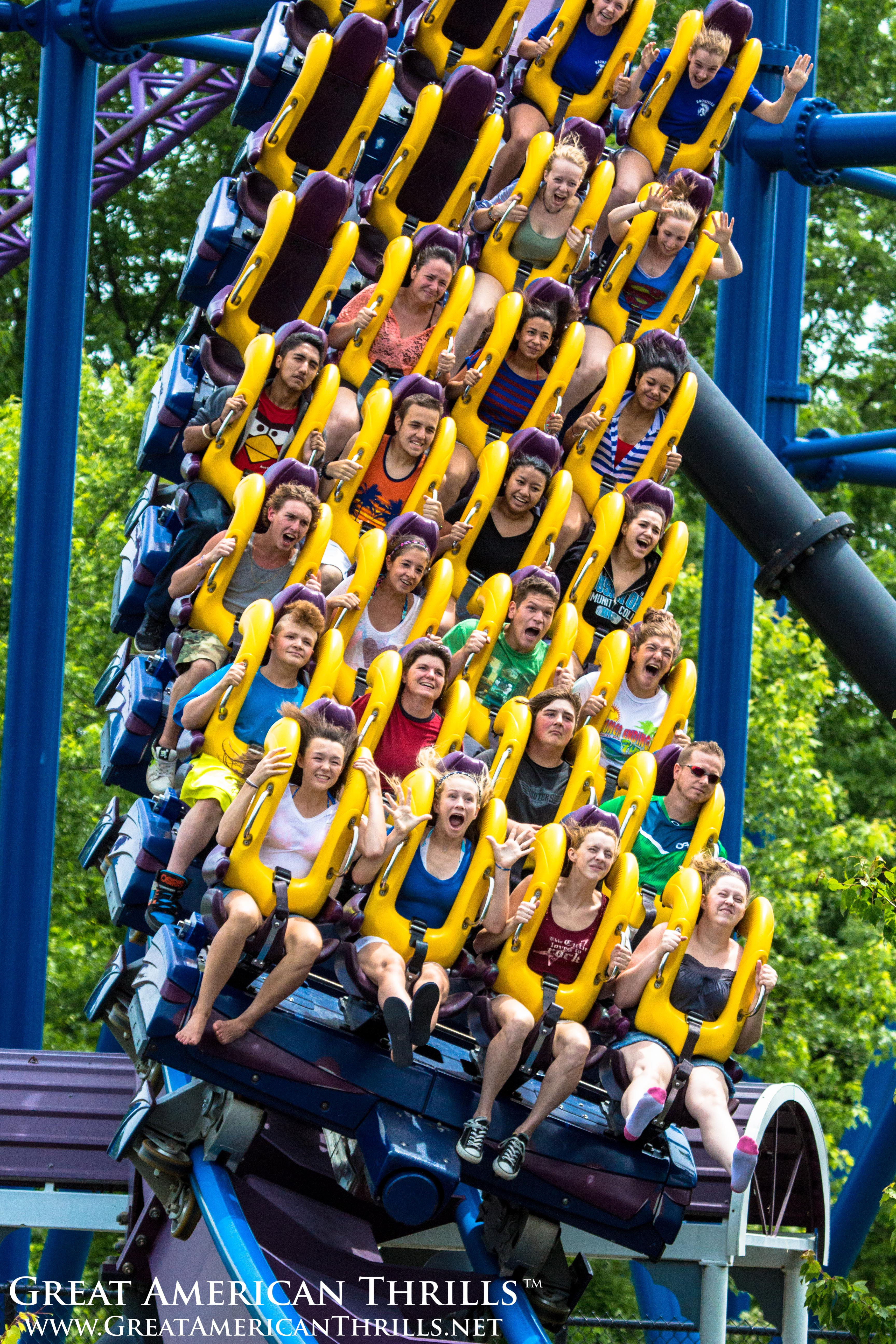 Photo Of The Day Batman Dark Knight At Six Flags New England