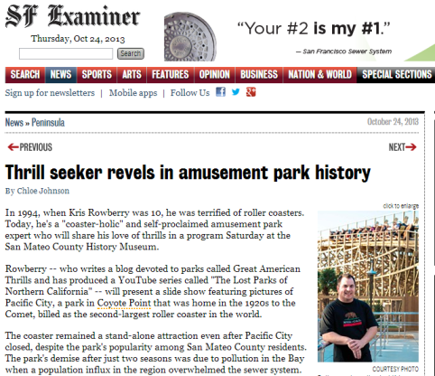 For the full article, pick up a copy of today's Examiner, or click the link below.
