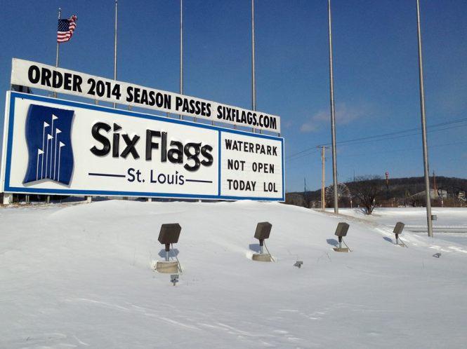 Six Flags St. Louis on Social Media