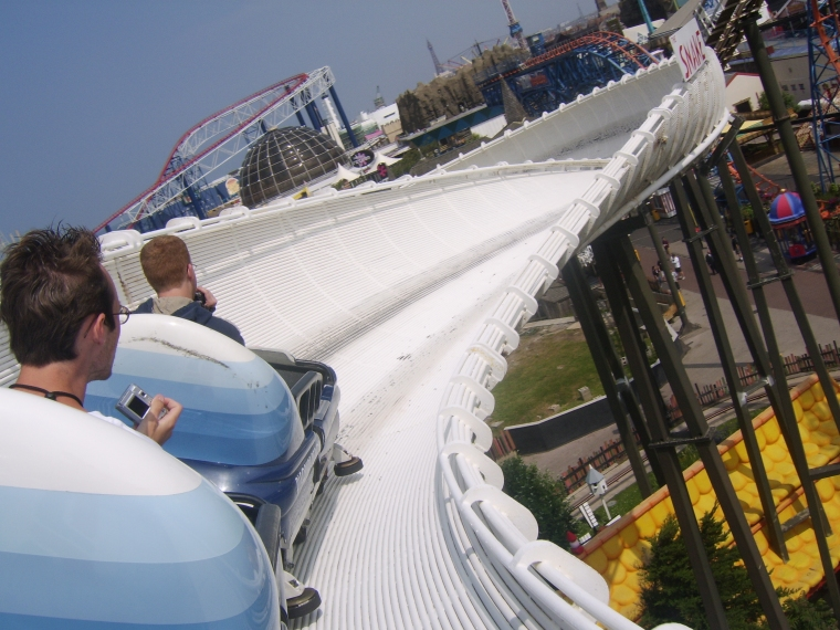 The Intamin Bobsled coaster saw a surge in popularity in the 1960's through the 1980's.