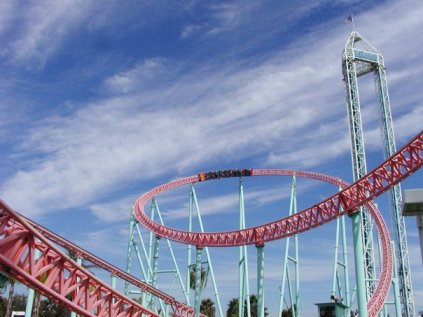 Xcelerator at Knott's Berry Farm. Photo by Kris Rowberry. All rights reserved.