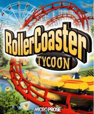 The original RollerCoaster Tycoon box.