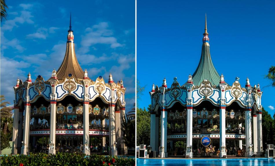 World's Tallest Carousels