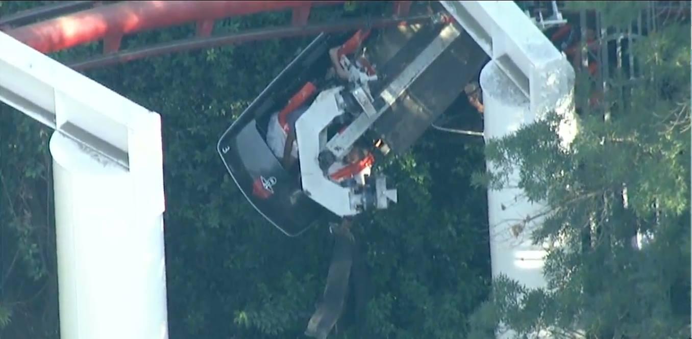 Screengrab from live coverage at: www.KTLA.com