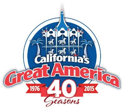 Great America 40th Logo