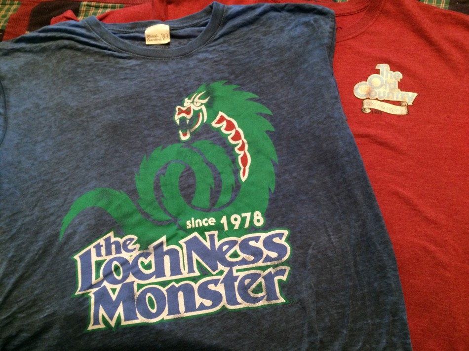 Busch Gardens retro shirts