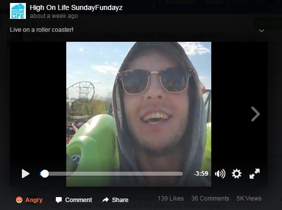 High on Life Coaster