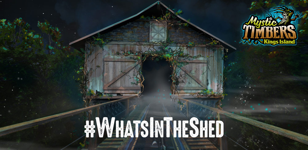 Kings Island 2017 Teaser What's In The Shed